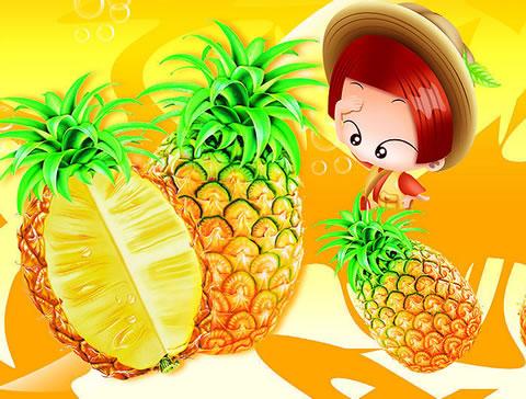 科学减肥_减肥的水果菠萝